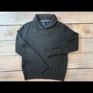 Men's medium grey Tommy Hilfiger Sweater V5
